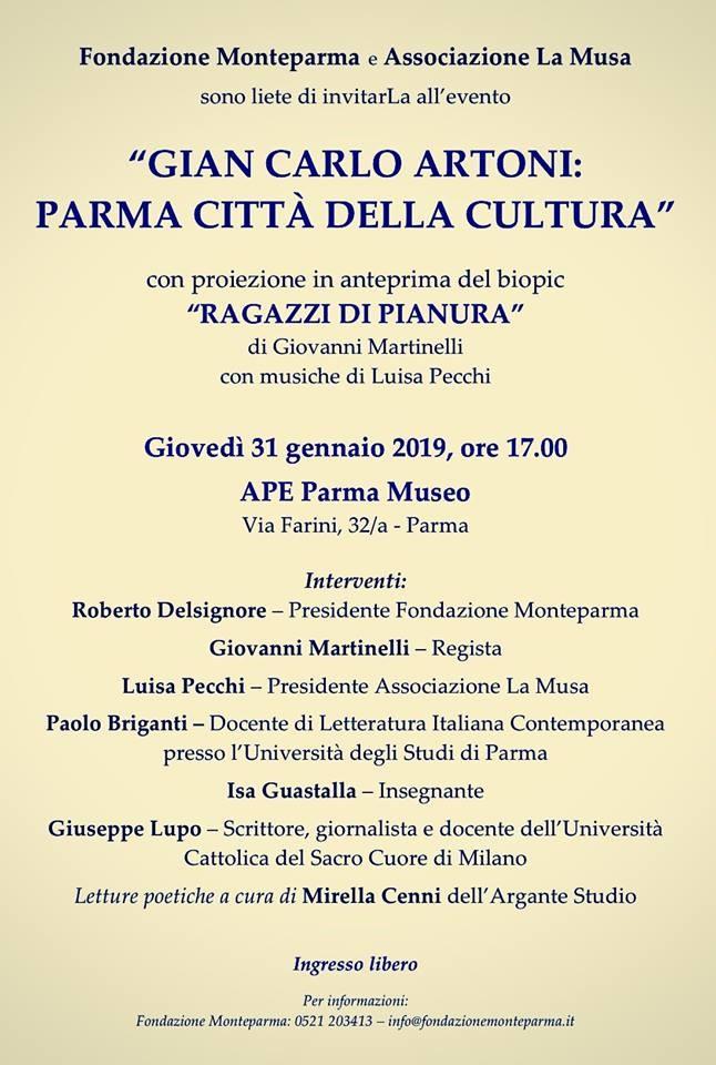 Gian Carlo Artoni: Parma città della cultura