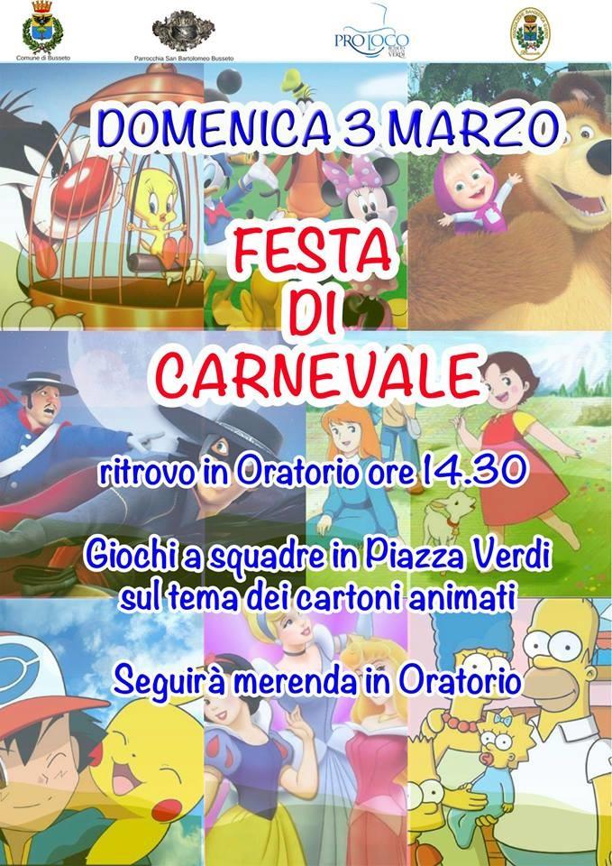 Festa di Carnevale a Busseto