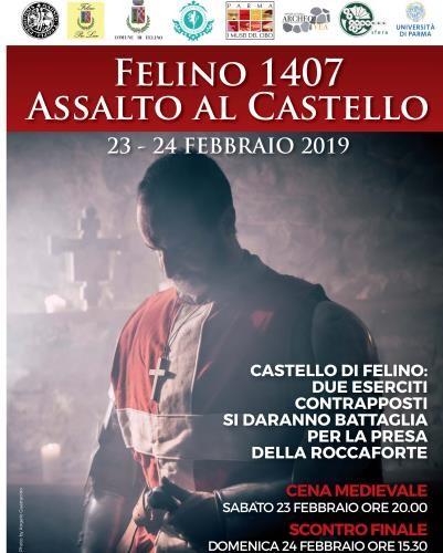 Felino 1407: Assalto al Castello