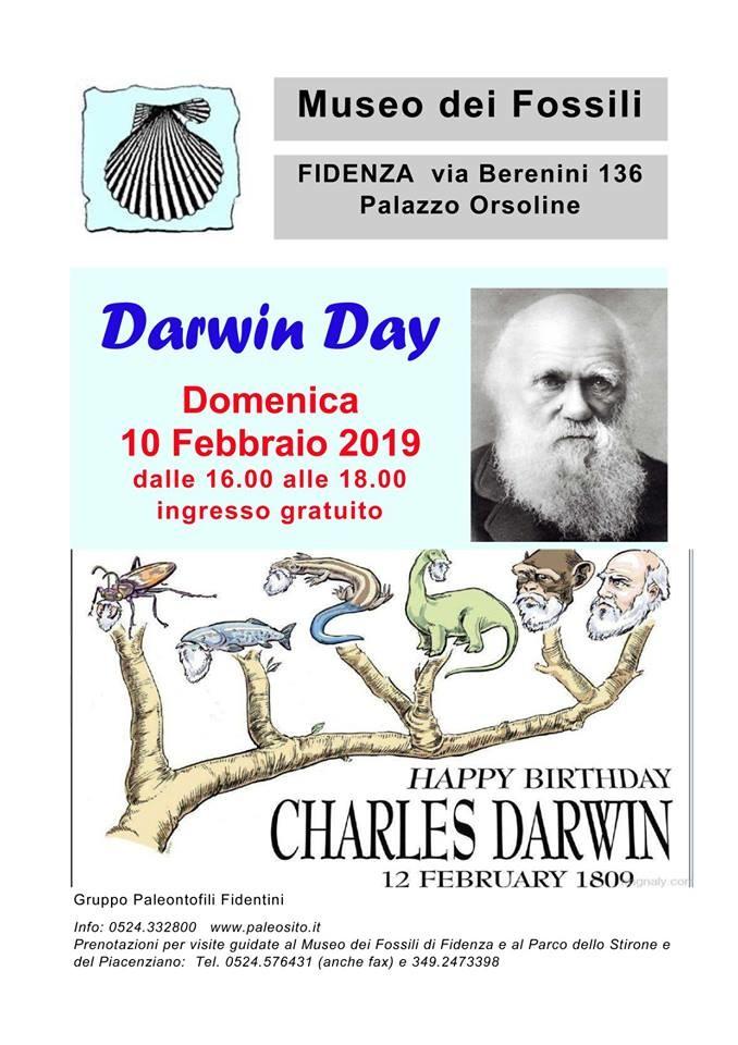 DARWIN DAY, INGRESSO GRATUITO AL MUSEO DEI FOSSILI