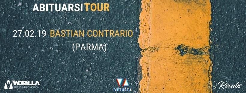 Vetusta, Abituarsi tour al Bastian Contrario