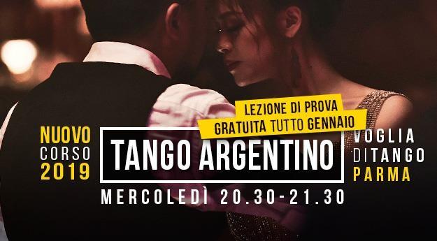 Partenza Nuovo Corso Primi passi a Voglia di Tango