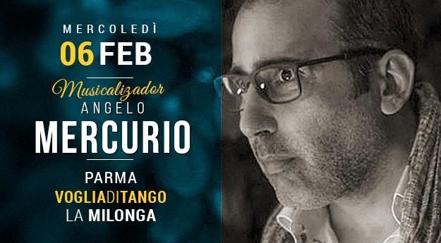Milonga di Voglia di Tango Tdj Angelo Mercurio