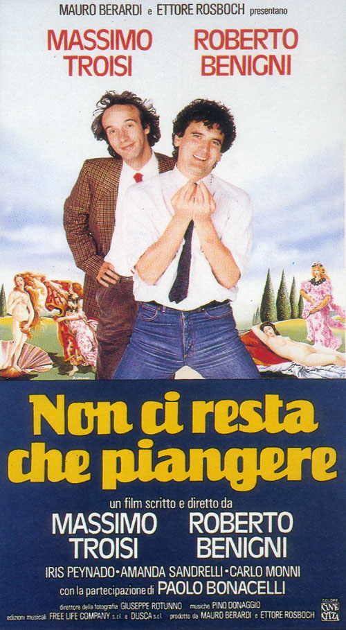 Rassegna: Cinema degli anni '80:  Non ci resta che piangere di Roberto Benigni  e Troisi
