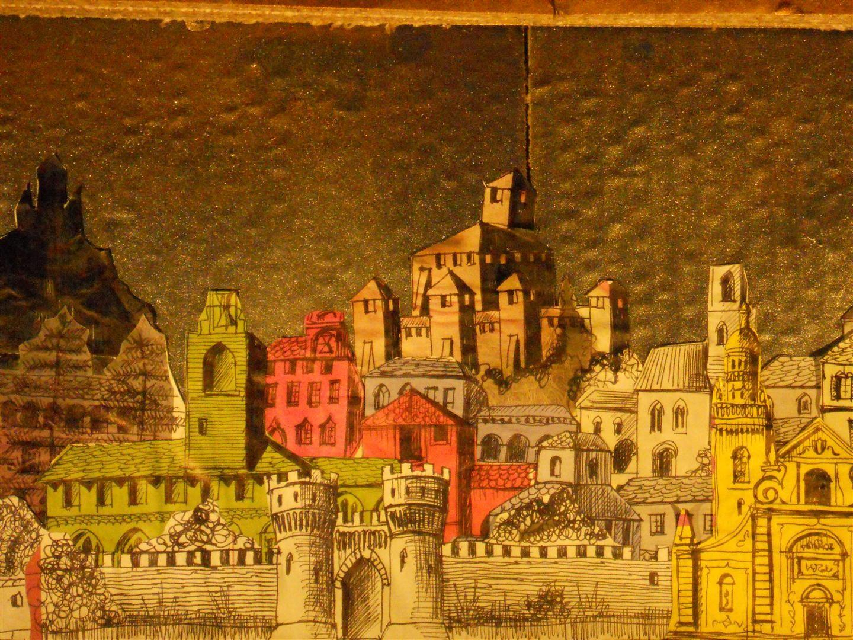 L'isola incantata della maga Alcina, mostra di architetture di cartone