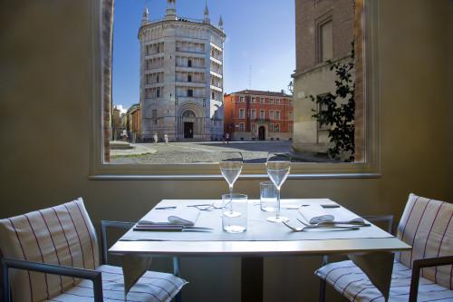 San Valentino  con vista sul Duomo al ristorante Angiol d'or