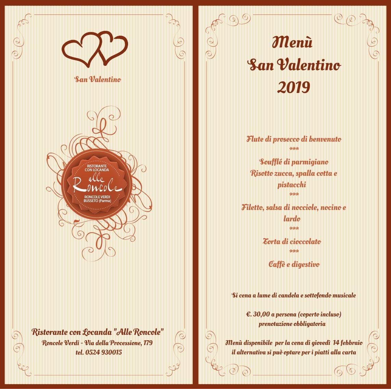 San Valentino alle Roncole, ristorante con locanda
