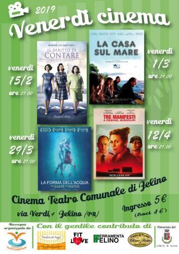 Venerdì Cinema: rassegna cinematografica su temi sociali e di attualità