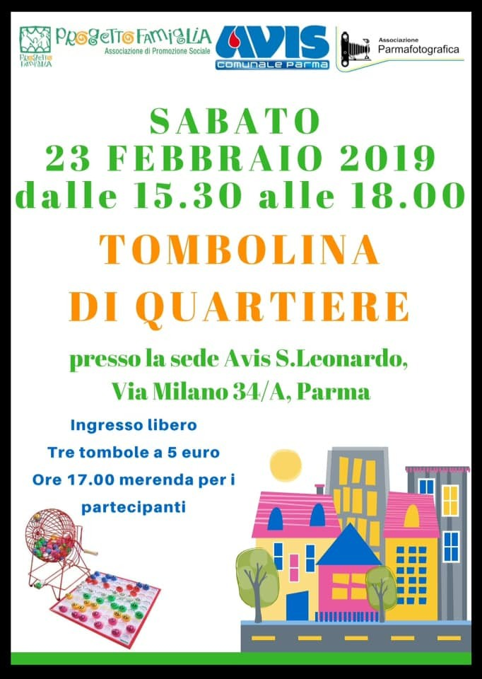 Tombolina di quartiere all' Avis S.Leonardo