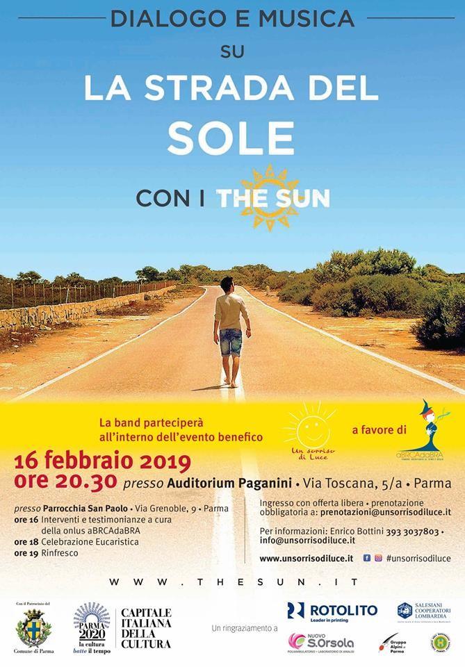 """La strada del sole con i """"The Sun"""""""