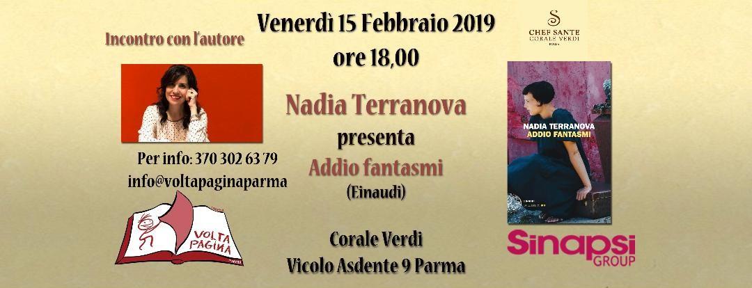 Nadia Terravova presenta: Addio fantasmi alla Corale Verdi