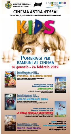 """""""Kids-Pomeriggi per bambini al cinema""""       LA STREGA ROSSELLA E BASTONCINO"""