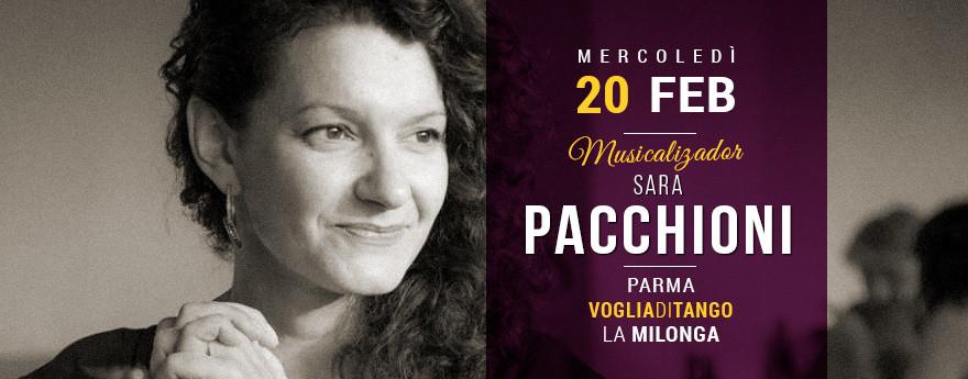 La Milonga del Mercoledì - Tdj Sara PACCHIONI