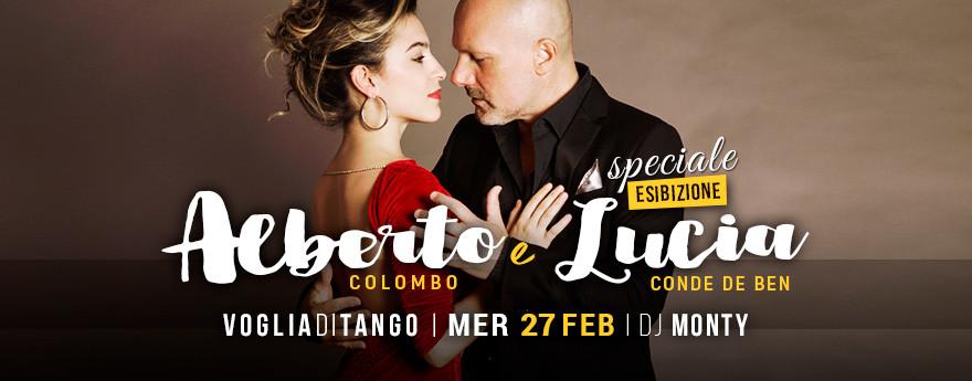 La Milonga del Mercoledì - Tdj MONTY Speciale con Alberto Colombo e Lucia Conde de Ben