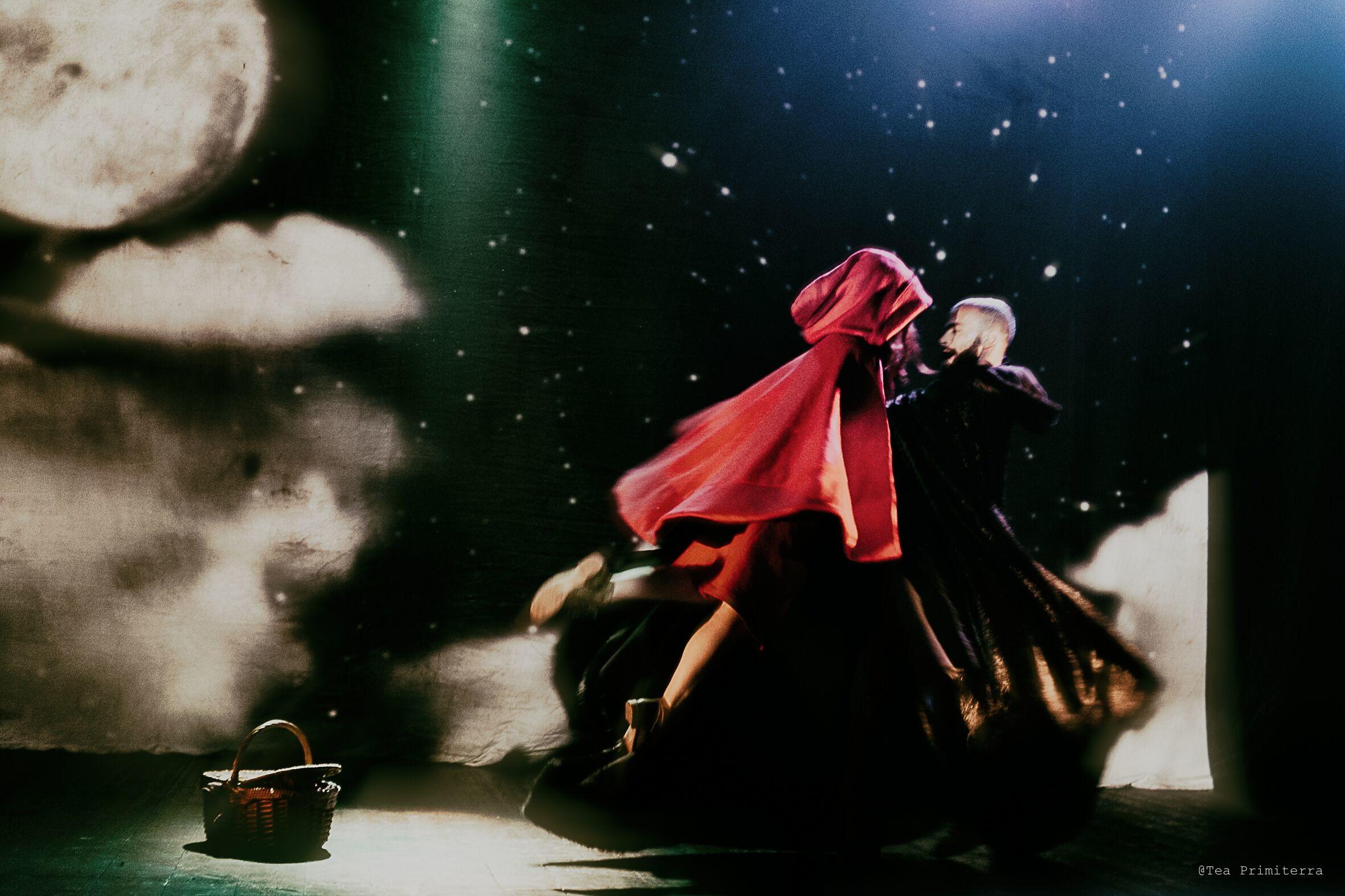 WEEKEND AL PARCO  Cappuccetto rosso tra danza, cartoni d'epoca e arte