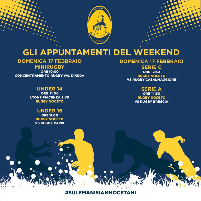 SERIE A Rugby Noceto F.C.vs Rugby Brescia