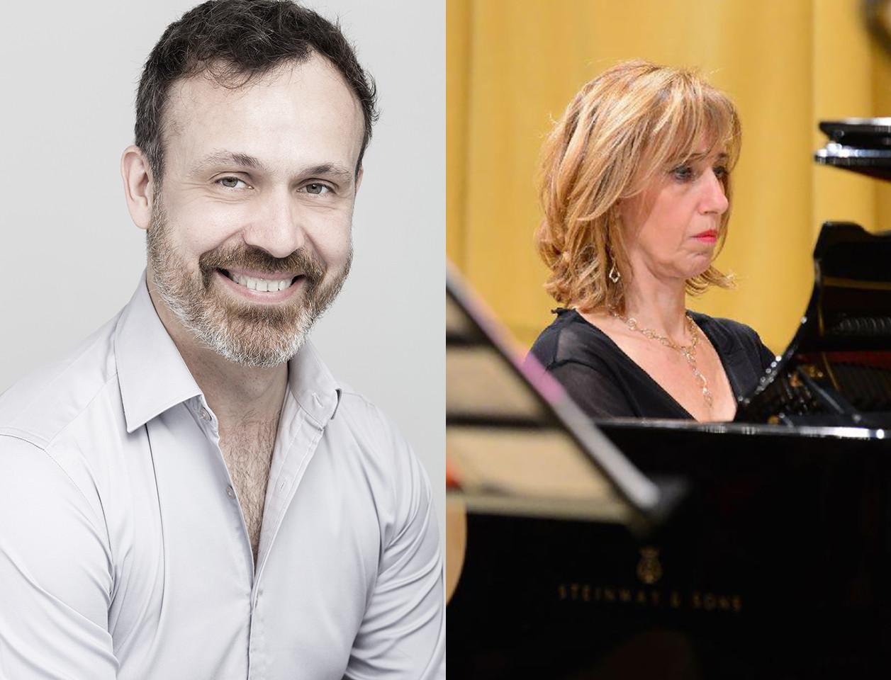 Muove la Regina!  Sergio Foresti (baritono) e Claudia Rondelli (pianoforte) propongono un programma tutto dedicato alle romanze da camera