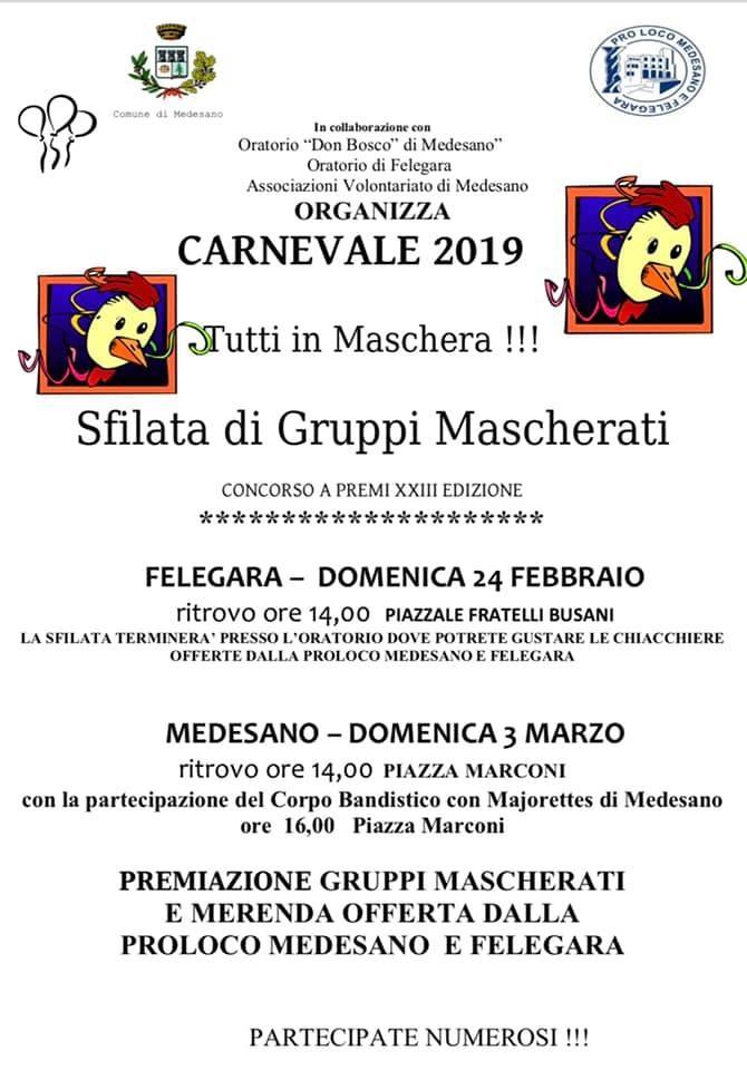 Carnevale a Medesano