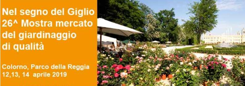 """""""Nel segno del giglio"""", mostra mercato del giardinaggio  di qualità"""