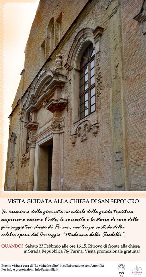 Visita alla chiesa di SanSepolcro di Parma e ai suoi tesori d'arte
