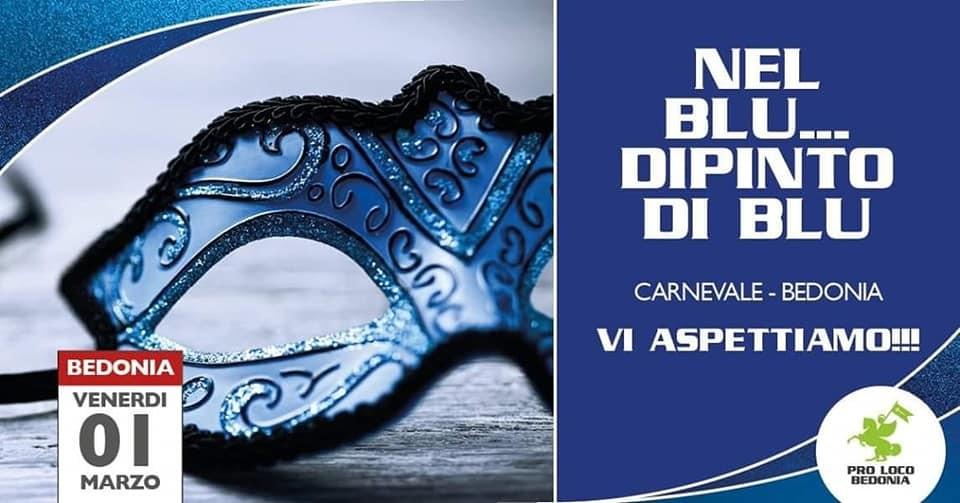 Nel blu dipinto di blu, Carnevale a Bedonia