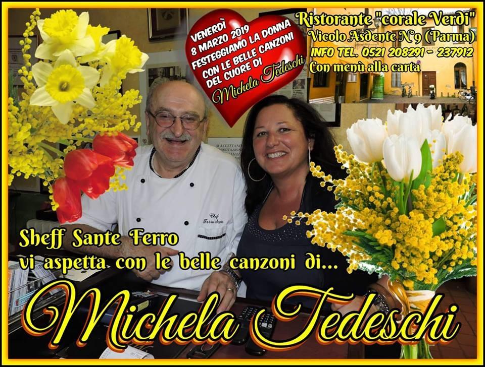 8 marzo al ristorante Corale Verdi con la musica di Michela Tedeschi