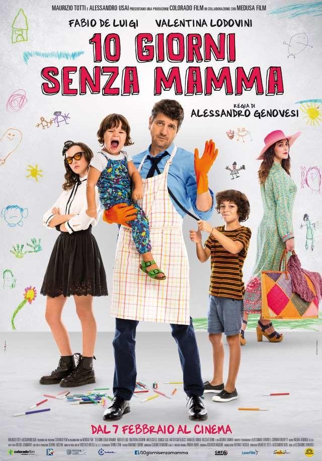 10 GIORNI SENZA LA MAMMA al Cinema San Martino
