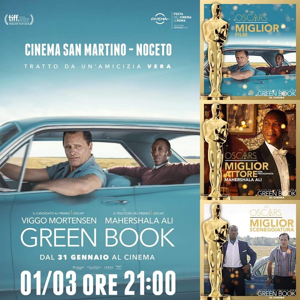 GREEN BOOK al Cinema San Martino, ultima proiezione