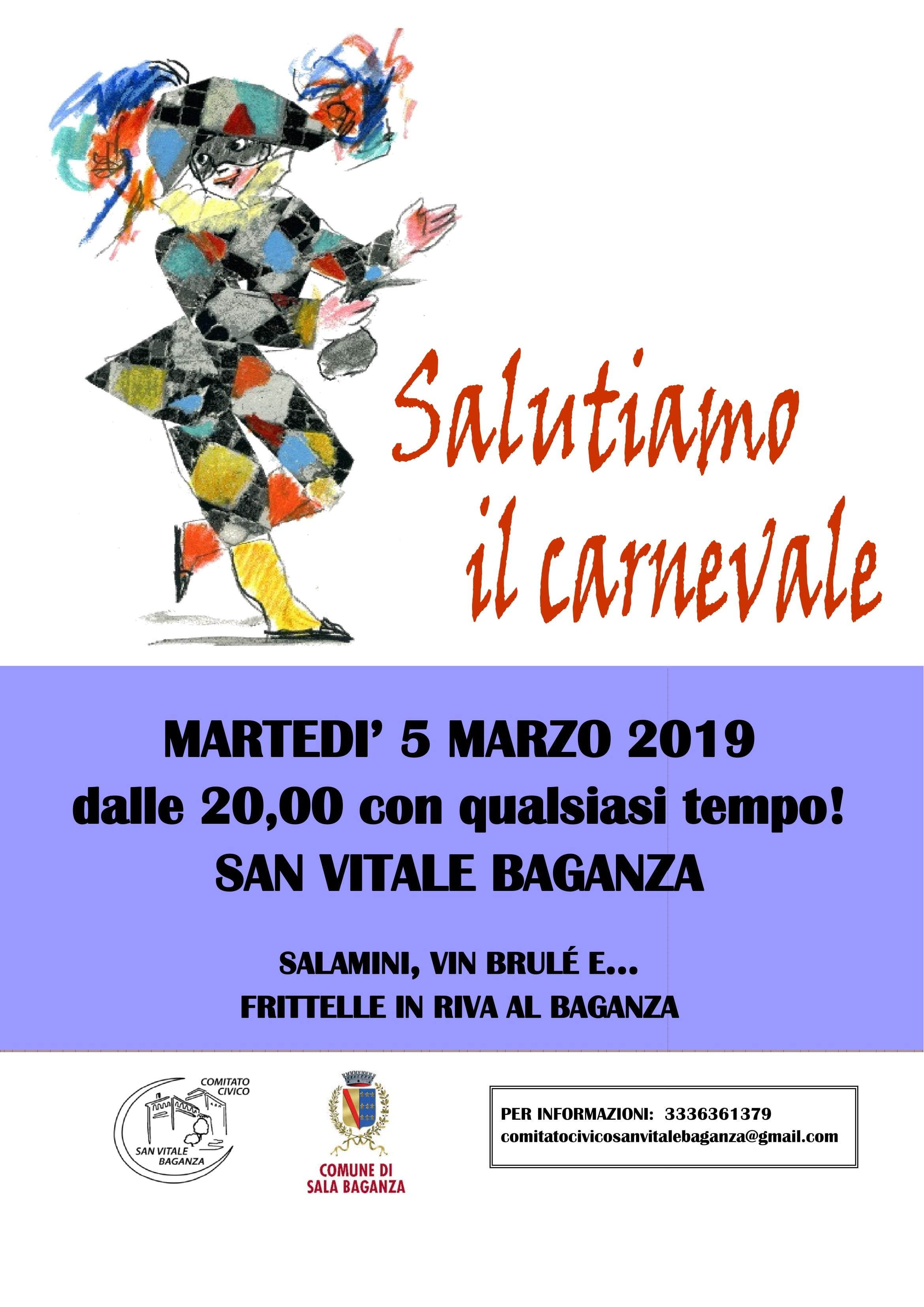 Salutiamo il Carnevale a San Vitale Baganza
