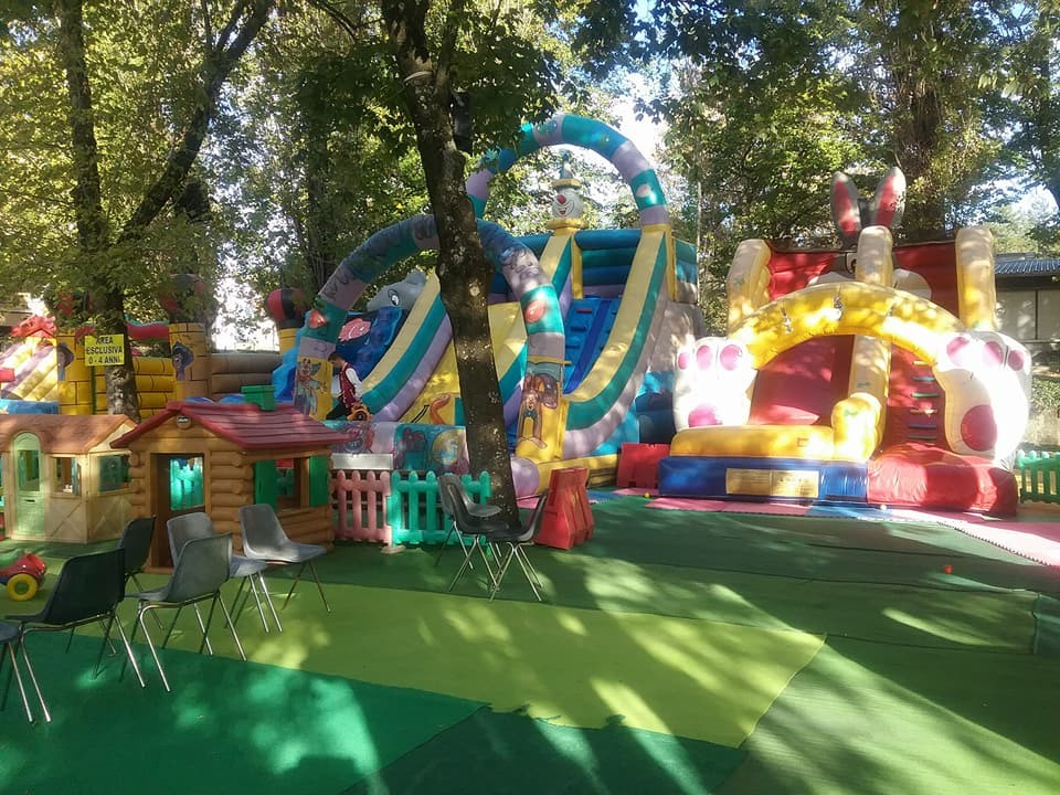 I giochi di Gommaland al Luna park