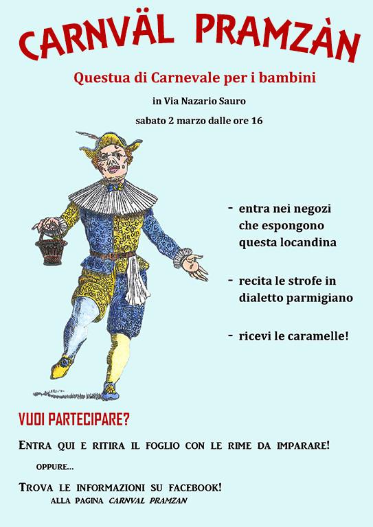 Carnväl Pramzàn - Carnevale per i bambini in dialetto parmigiano