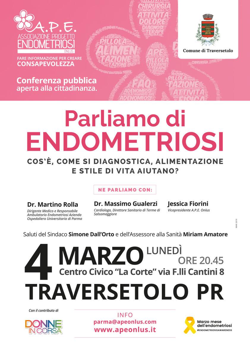 Parliamo di endometriosi a Traversetolo