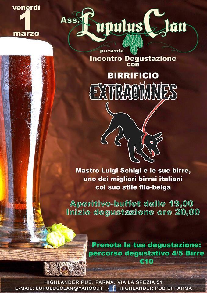 Incontro e degustazioni biire all'Highlander Pub Beershop