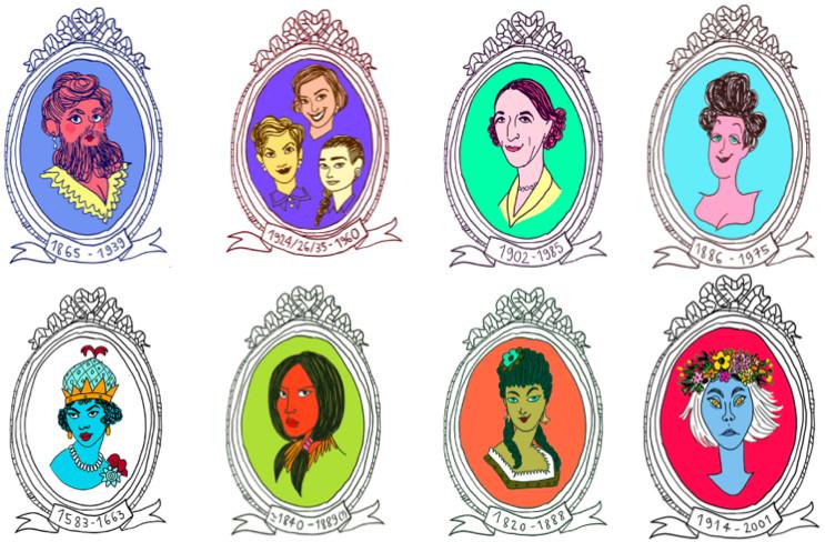 LA CITTÀ DELLE DONNE  Storie femminili del 900 Visita guidata per bambini e bambine