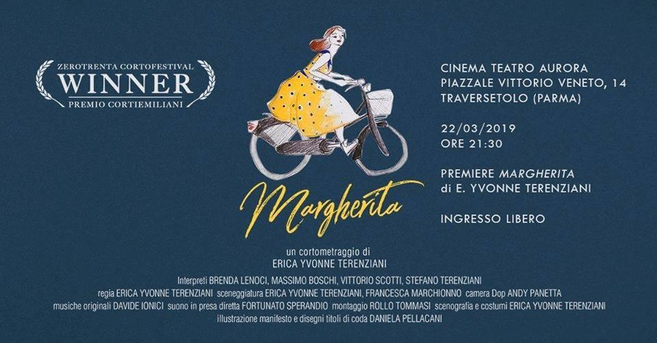 Margherita,  Short Movie Premiere al Teatro Aurora di Traversetolo