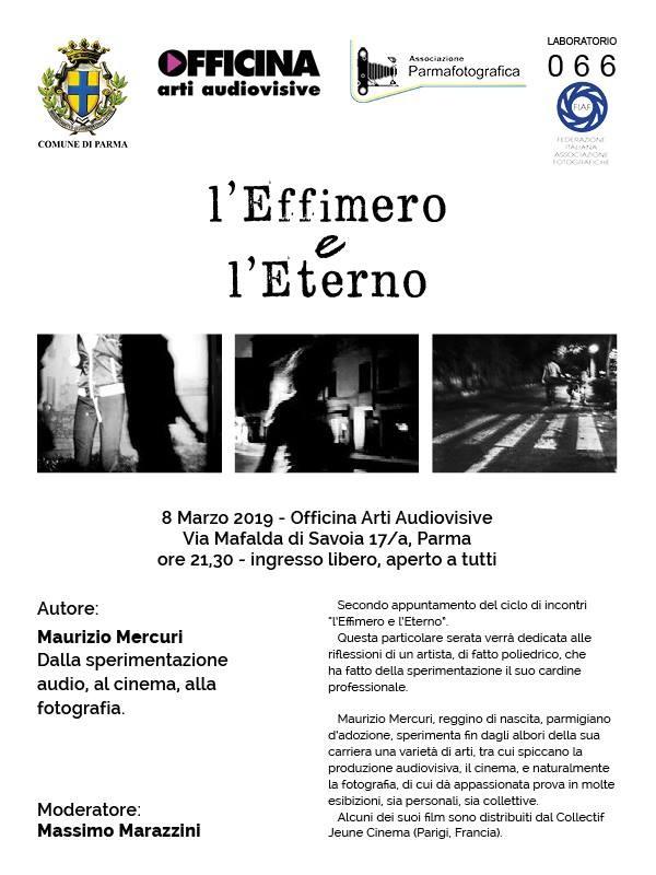 Effimero e l'Eterno, organizzato da Parma Fotografica