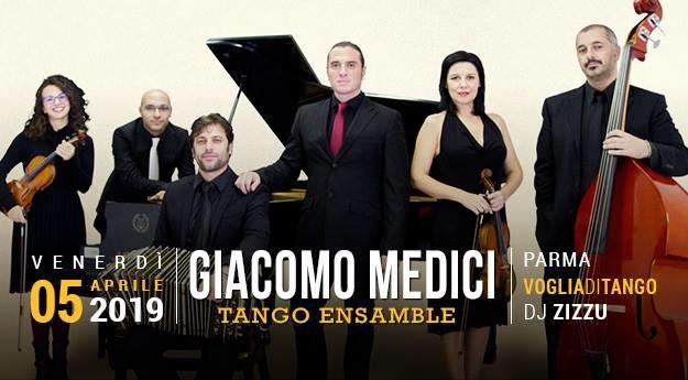 Serata Speciale Giacomo Medici Tango Ensamble Tdj F.Zizzu