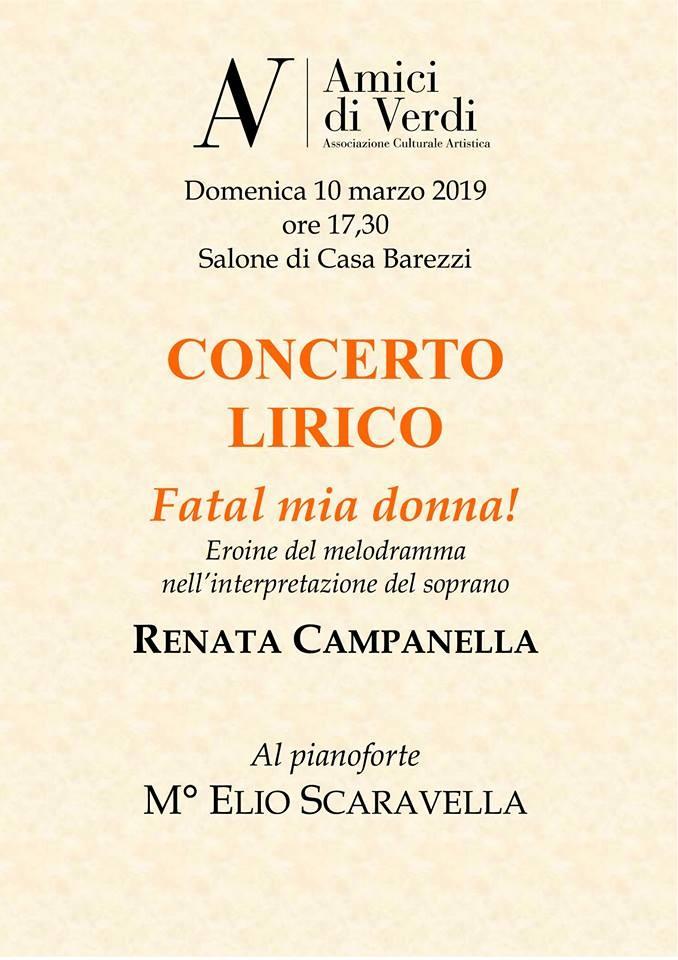 Concerto lirico al Museo  Casa Barezzi