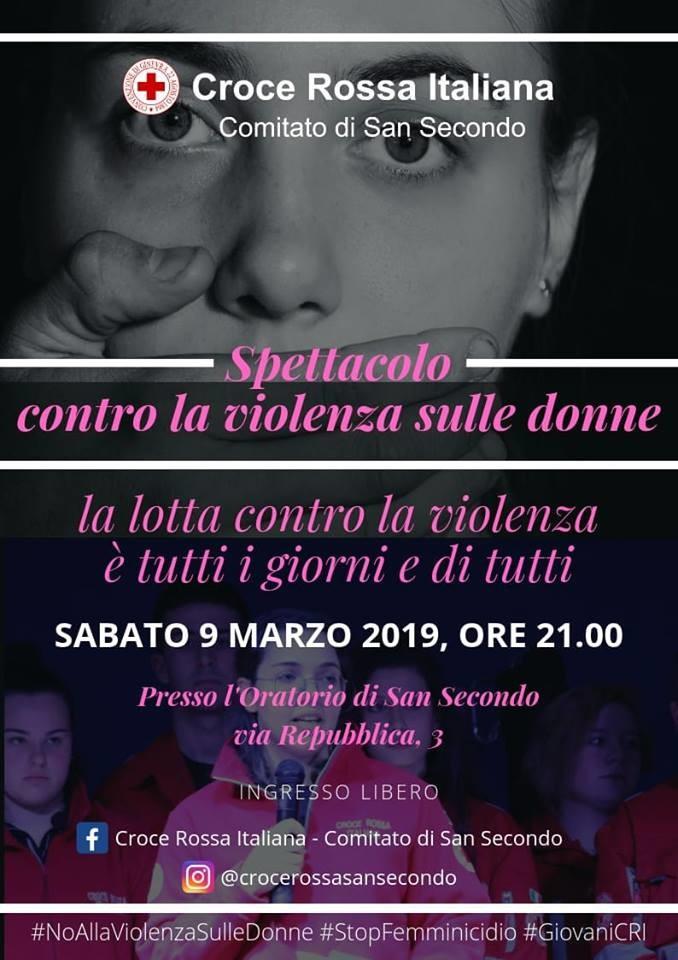 Spettacolo contro la violenza sulle donne a San Secondo