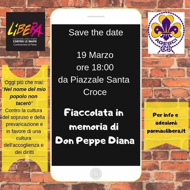 Fiaccolata in memoria di Don Peppe Diana