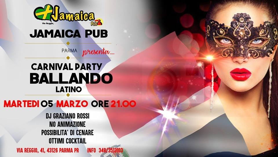 Carnevale Party al Jamaica
