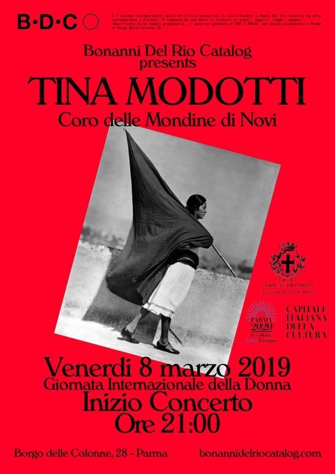 BDC41 - TINA, Le fotografie di Tina Modotti: Coro delle Mondine di Novi e Festa della Donna