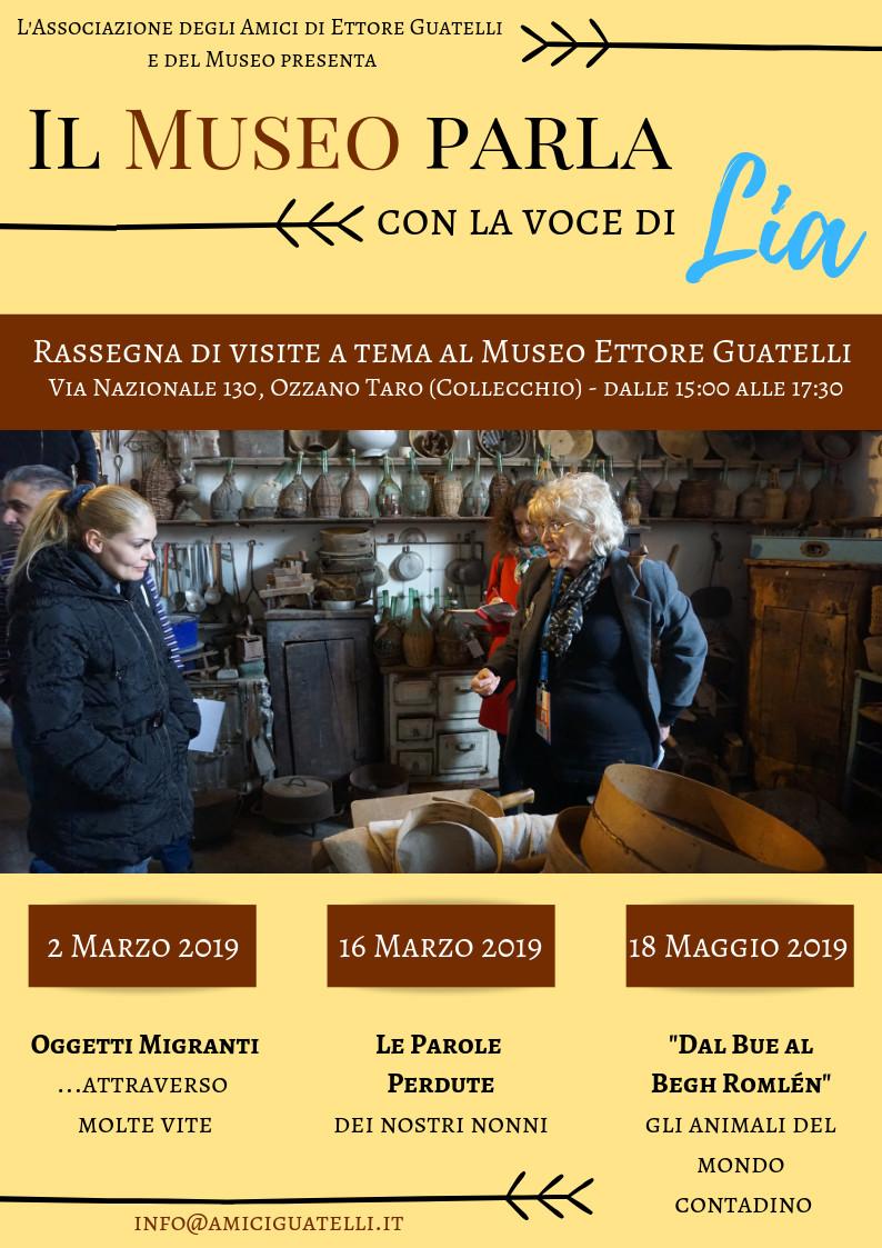 VISITE A TEMA  LIA  2019 al Museo Guatelli