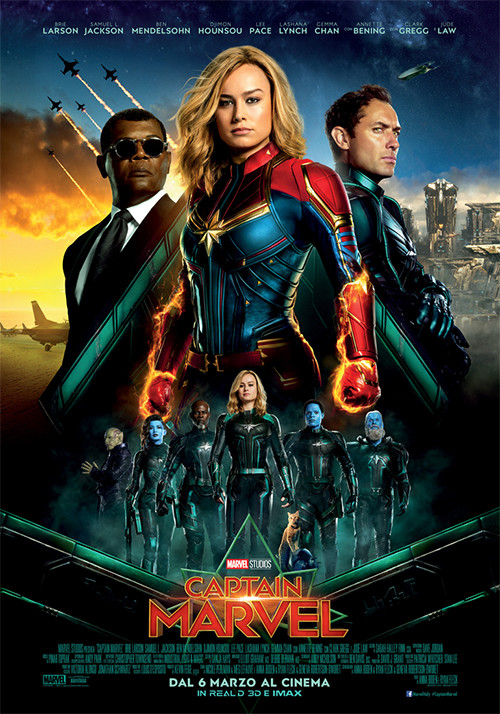Al CINEMA GRAND'ITALIA  CAPTAIN MARVEL