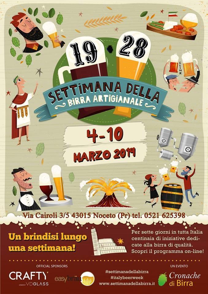 Settimana della birra artigianale al 19.28 pub gourmet