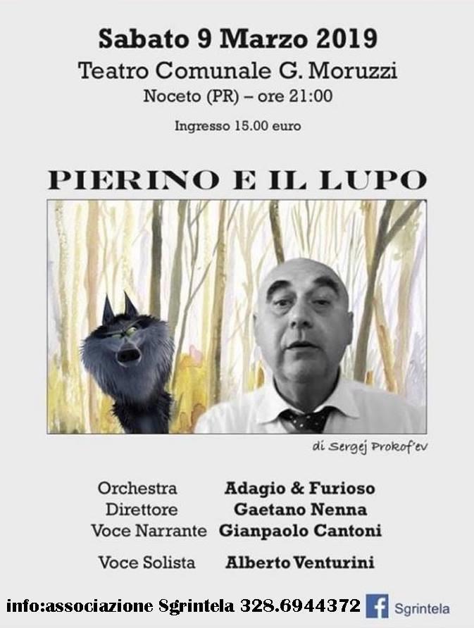 Pierino e il lupo  al Teatro Moruzzi