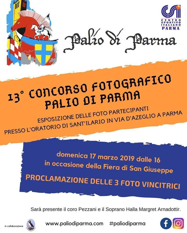 PREMIAZIONE CONCORSO FOTOGRAFICO PALIO DI PARMA