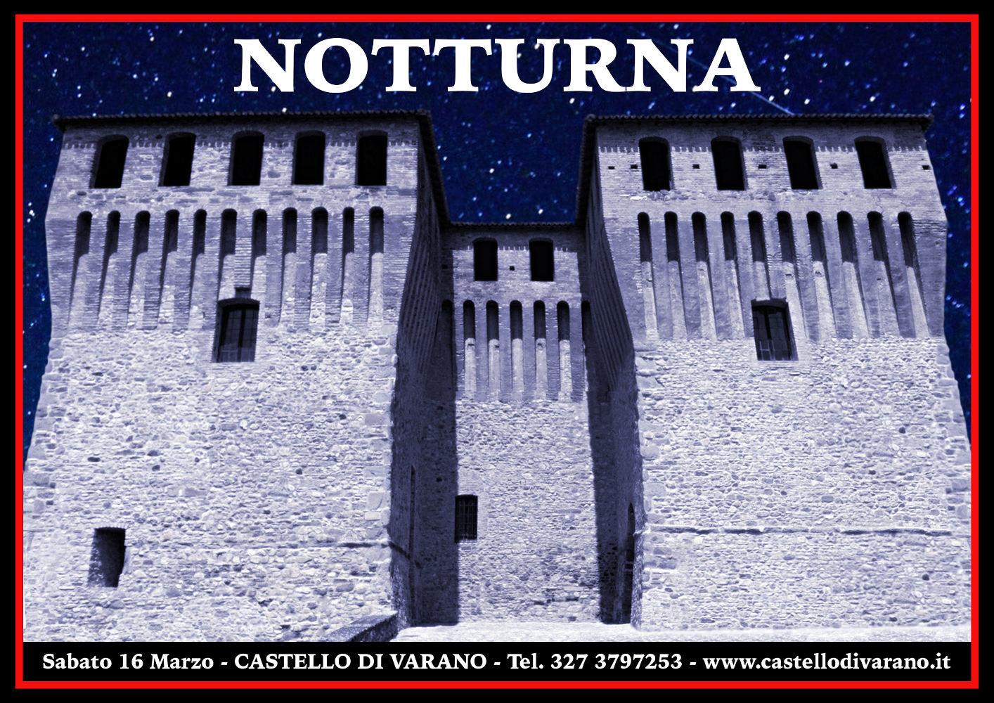 CASTELLO IN NOTTURNA, visita guidata al Castello Pallavicino