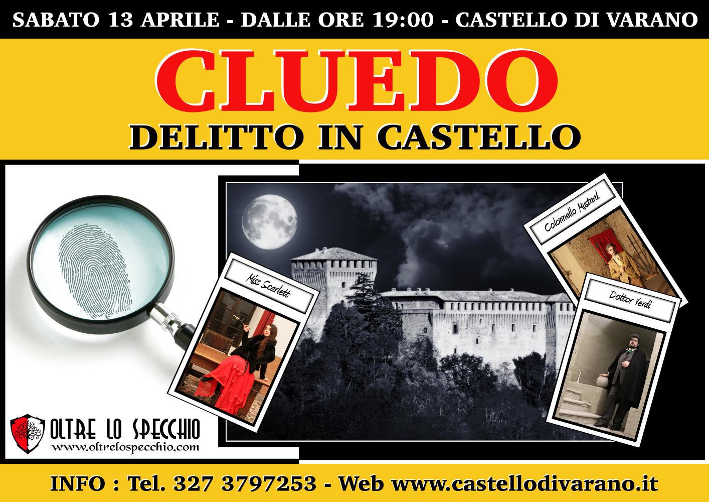 CLUEDO - DELITTO IN CASTELLO a Varano