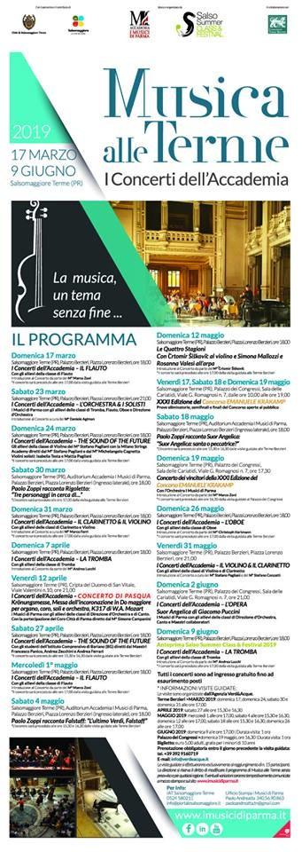 Musica alle Terme - I concerti dell'accademia con 'I Musici di Parma'